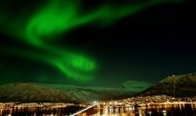 Tromsø is the capital of the Northern Lightss
