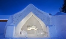 In Lapland you can find incredible icehotel accommodations