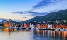 Bergen is also a UNESCO World Heritage city