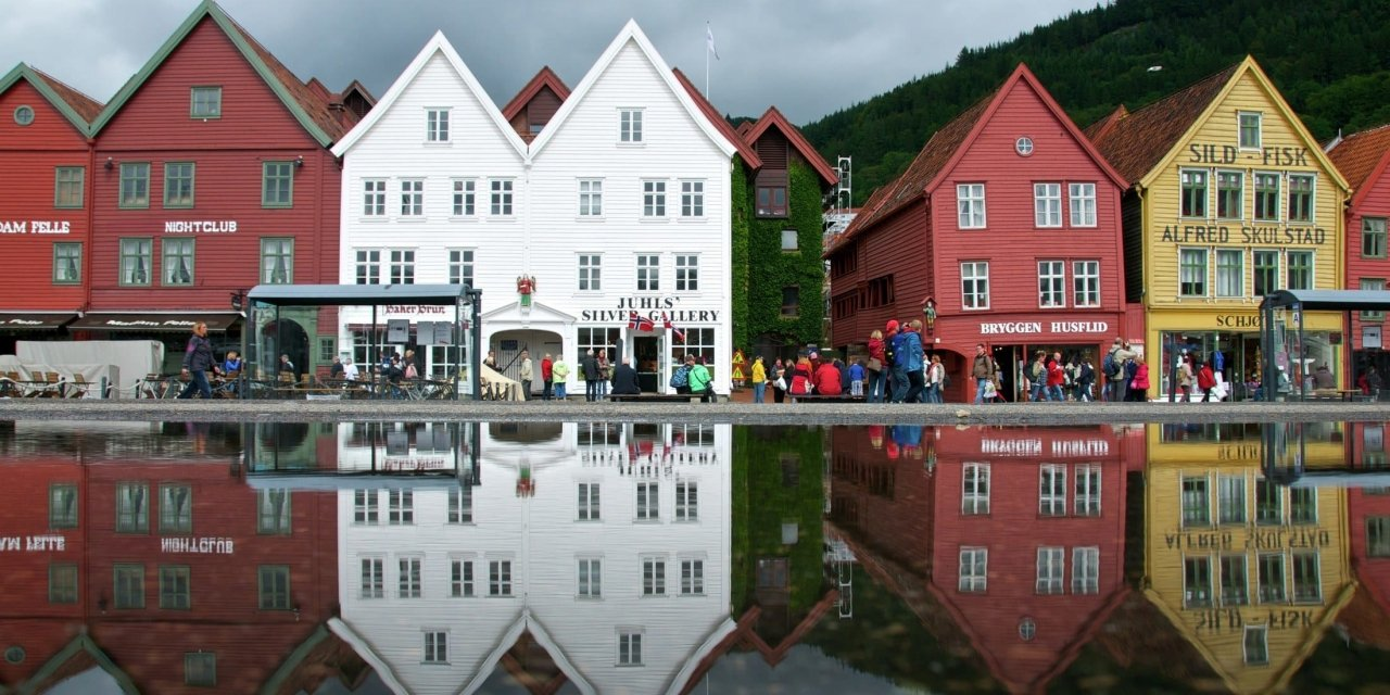 The cosy city Bergen is a good reason to visit Norway