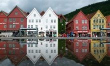 Bergen is the gateway to the Fjords of Norway and also a world heritage city