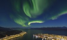 Amazing Northern Lights in Narvik