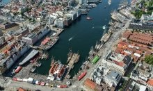 Bergen is starting point for many fjord cruises