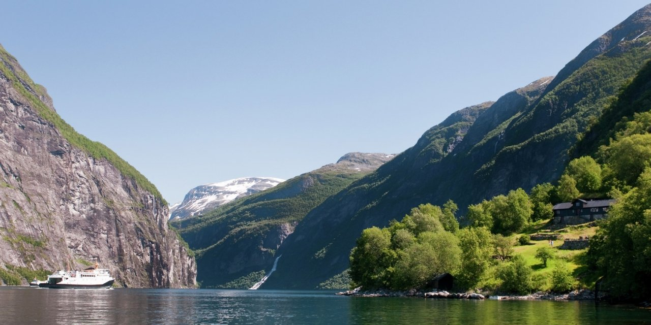 The Geirangerfjorden is an unforgettable destination for the most visitors