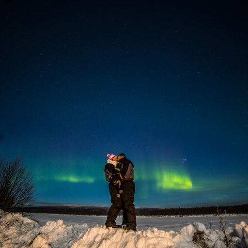 Romance under the Northern Lights