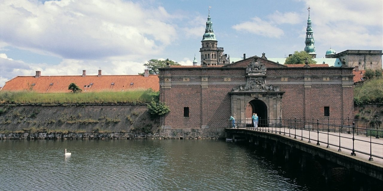 Kronborg Castle in Denmark is a top heritage in the Nordic countries