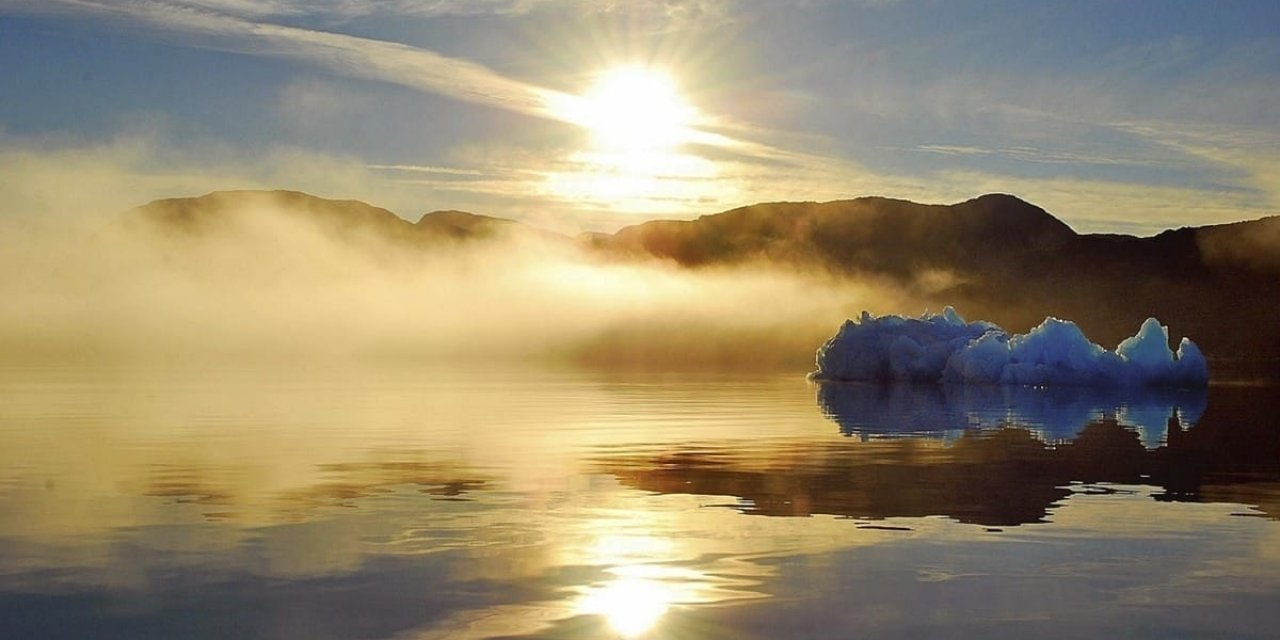 The Midnight Sun is magnificent to explore in the summer in Greenland