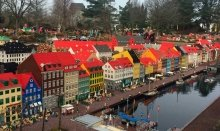 Legoland is a very famous attraction for kids in Denmark