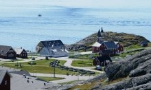 The Nuuk Fjord where you can watch whales