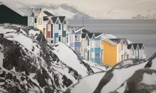 In Nuuk you find beautiful colours