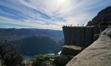 The Pulpit Rock is one of the best víewpoints in the world