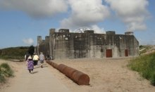 The Tirpitz Bunker Museum in Blåvand is from World War ll and one of the largest in Europe