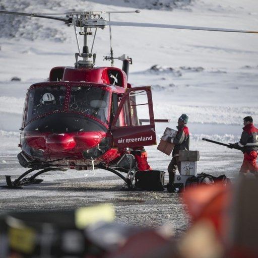 Emergency call in Greenland