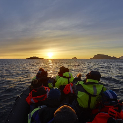 Midnight Sun photo safari by RIB boat